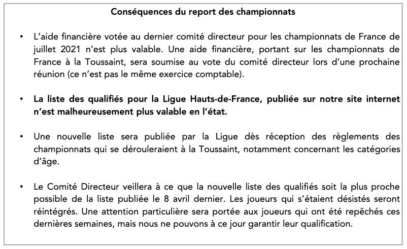 Comité directeur n°3 - Championnats de France des Jeunes et Campagne Agence Nationale du Sport cover