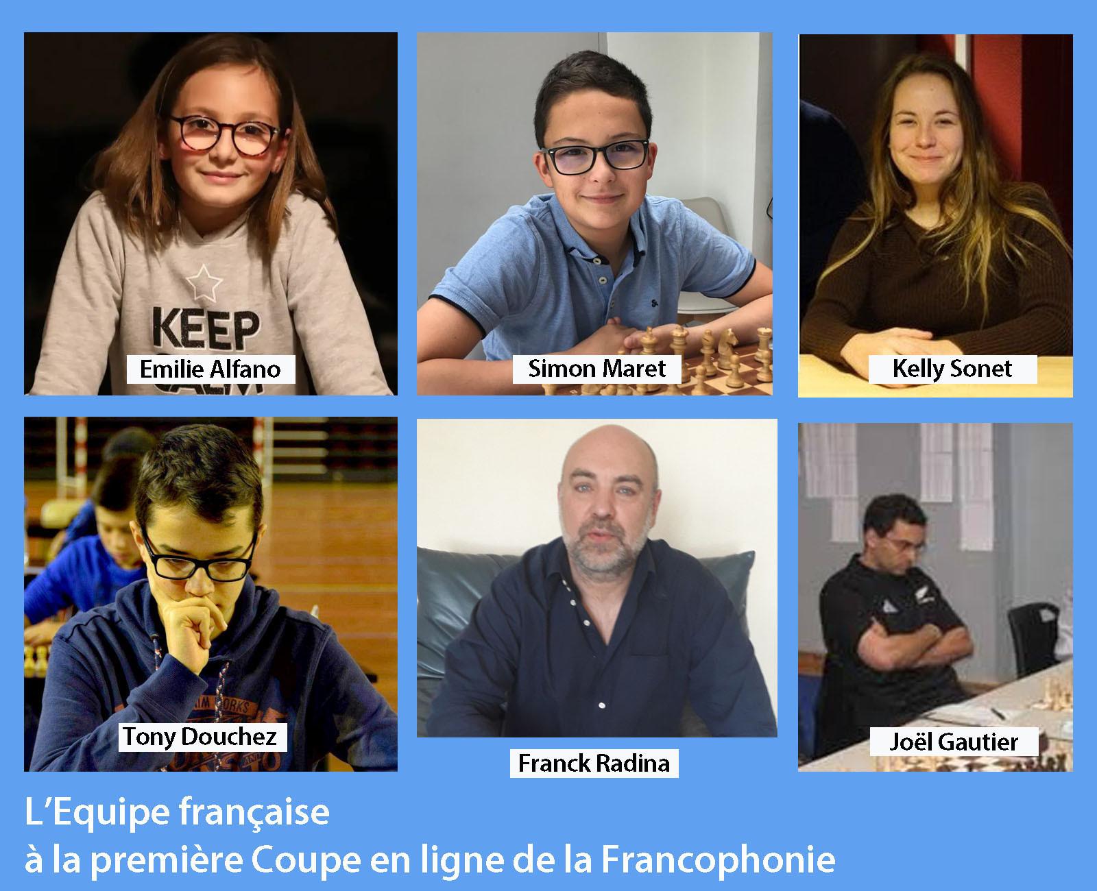 Franck Radina a participé à la première coupe en ligne de la Francophonie cover